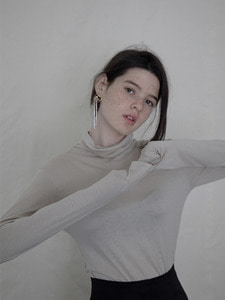 turtleneck long sleeved [3color]