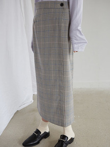 18ss wrap skirt [check]