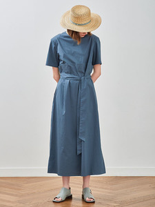 18ss pin-tuck dress [jade green]