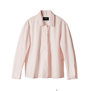 [1차 reorder]cotton-poplin shirt [pink]