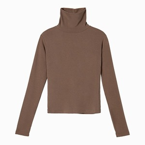 turtleneck long sleeved [mocha]