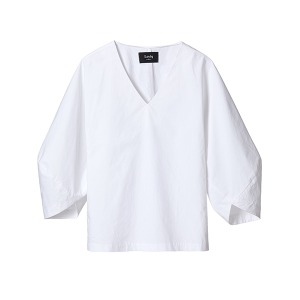 crispy volume top [white]