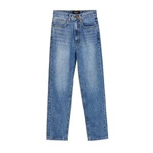 high-rise denim (blue)