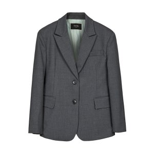 boyfriend fit blazer [grey]