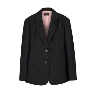 boyfriend fit blazer [black]