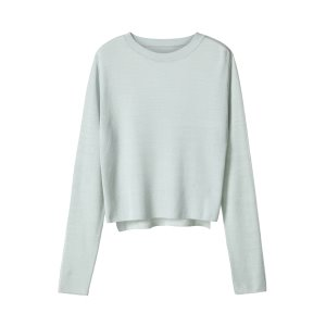 contrast knit [mint]