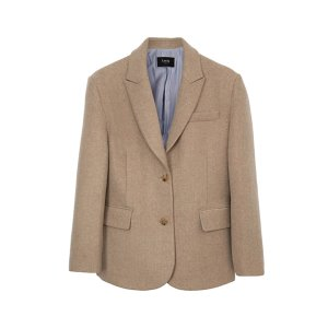 wool blazer [latte]