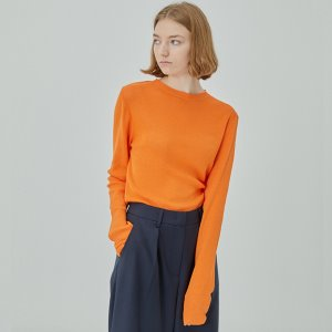 essential knit [orange]