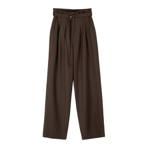 belted slacks [2colors]