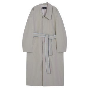 unbalance trench coat